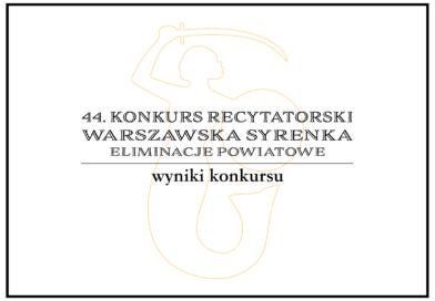Syrenka 2021 wyniki konkursu