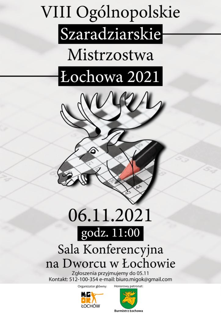 Szarady listopad 2021 plakat