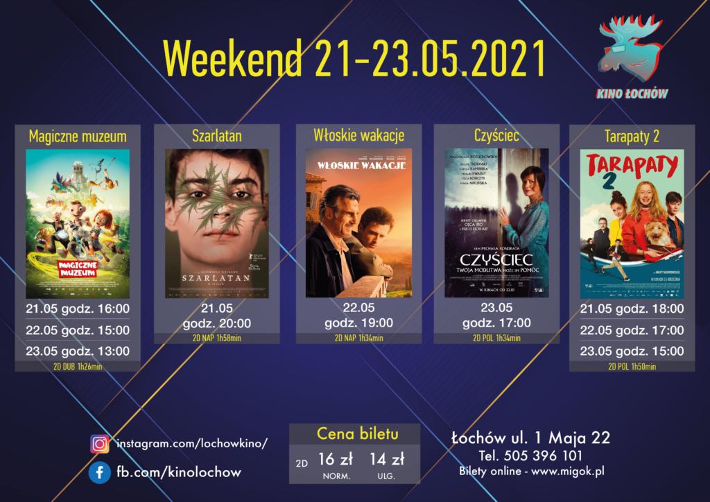 Weekend 21-23.05 Kino