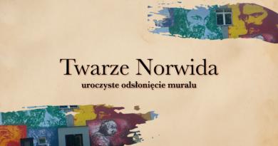 Twarze Norwida okładka na strone