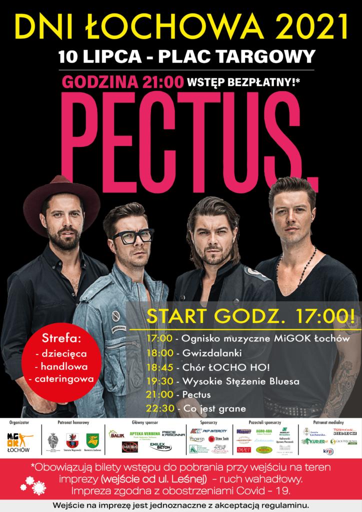 Dni Łochowa 2021 plakat