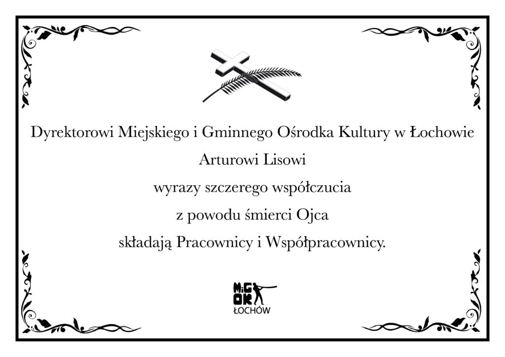 Nekrolog publikacja