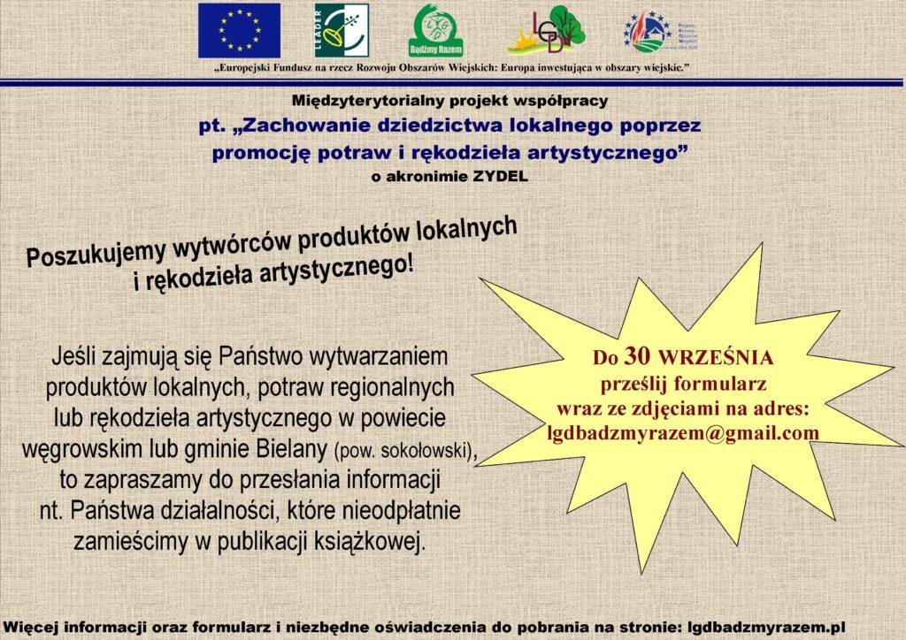 Publikacja ZYDEL - plakat