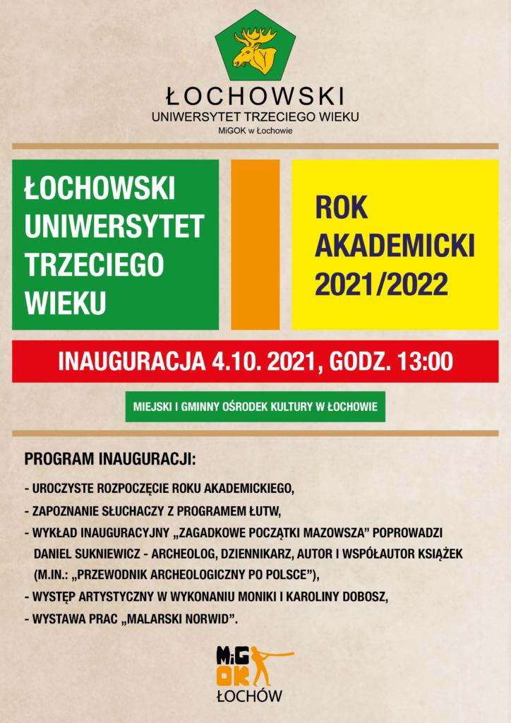 ŁUTW 2021/2022 plakat