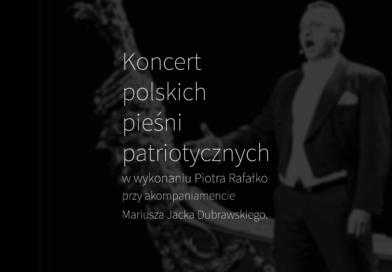Koncert polskich pieśni patriotycznych okładka